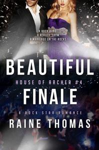 Author Raine Thomas Beautiful Finale