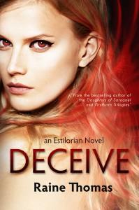Author Raine Thomas Deceive