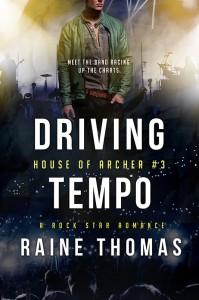 Author Raine Thomas Driving Tempo
