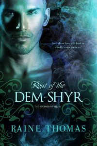 Author Raine Thomas Rout of the Dem-Shyr