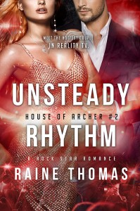 Author Raine Thomas Unsteady Rhythm
